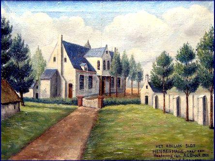 Slot_Henkenshage anno 1826